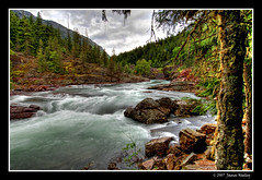 McDonald Creek (James Neeley) Tags: mountains river landscape bravo quality lakes glacier glaciernationalpark hdr naturesfinest lakemcdonald mcdonaldcreek rockflour magicdonkey 5xp abigfave superaplus aplusphoto holidaysvancanzeurlaub jamesneeley