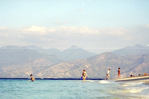 Beach on Gili Trawangan