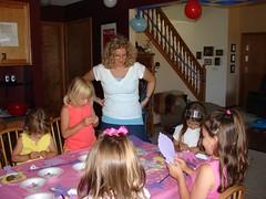 Craft time ... (kasindy) Tags: justine alli sindy july15 july2007 justinebirthday