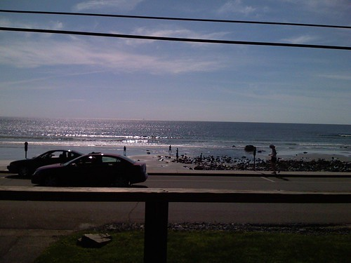 View from the deck @ York Beach, ME