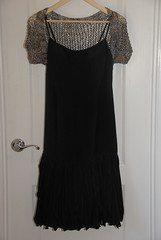 Shimmer Shrug with Dress