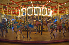 Santa Monica Carousel at the Pier - by KaroliK