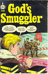 God's Smuggler Cover (King Power Cinema) Tags: comics religious soldier god russia wwii rifle christian spire communist bible smuggler easterneurope bordercrossing checkpoint