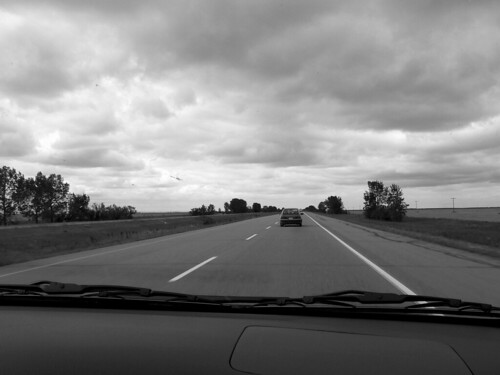 the road to Moose Jaw