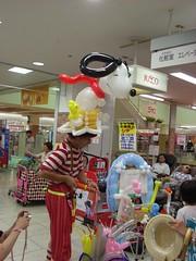 ジャスコ新潟店でのバルーンアート