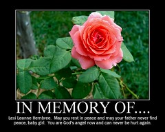 To the Memory of Lexi Leanne With Love - by cindy47452