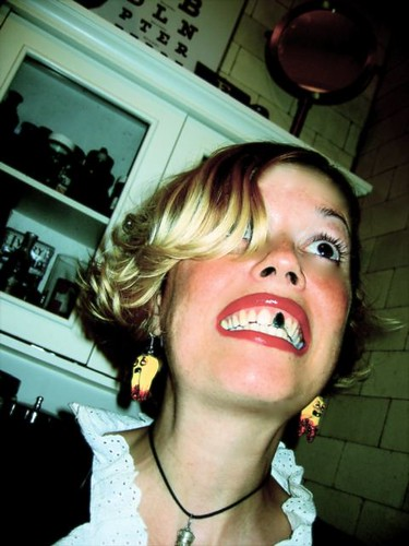 Rotten Tooth Earrings!