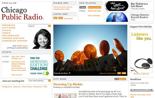 Chicago Public Radio 9.7.07