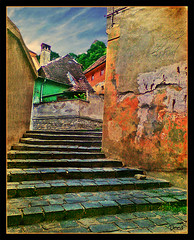 The soul within (Deea) Tags: old city house color rock nokia ancient alley day cityscape fantasy romania sighisoara oldcity 2007 deea 7373 scoreme42 aplusphoto theunforgettablepictures proudshopper hapinessconservacy alohagroup