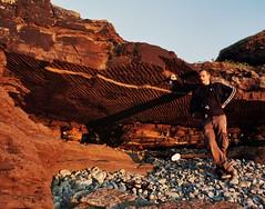 Hidden Places (lightxposr) Tags: ireland sunset rocks overhang spanishpoint countyclare