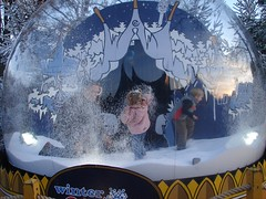 Snow globe, de Efteling