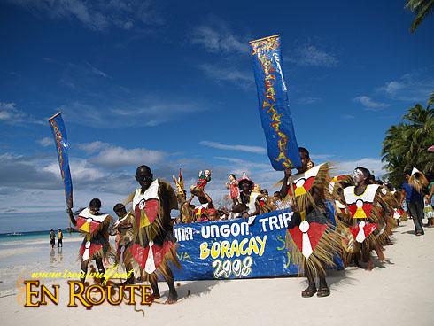Ati-atihan Festival in Boracay Island