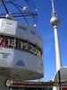 Berlin Alexanderplatz (Don Quijote de la Mancha) Tags: berlin train germany deutschland zug alexanderplatz fernsehturm uhr deutschetelekom invitedby