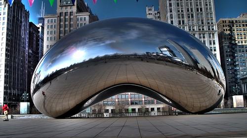 hdr 203 Chicago Bean Millenium Park