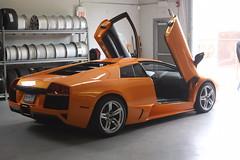 IMG_0920 (Lamborghini obsessed) Tags: paul lamborghini harrington murcielago gallardospyder 5604 lp640 valentinobalboni lp640roadster gallardocoupe dreamcarlegendstour