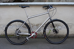 Kona (immu) Tags: bike bicycle aluminum deluxe dew kona polished aluminium nitto suku