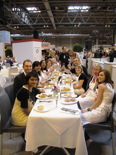 The Miele Team and the Bloggers