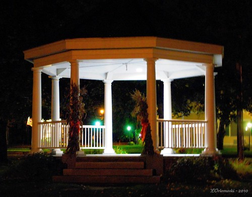 Bethel Gazebo at Night