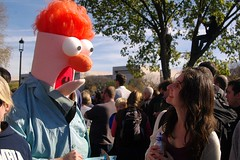it's beaker! (philliefan99) Tags: people washingtondc districtofcolumbia jonstewart protest demonstration sesamestreet nationalmall dcist crowds stephencolbert comedycentral firstamendment rallytorestoresanity rallytorestoresanityandorfear sanityandorfear guyinabeakercostume rallytokeepfearalive