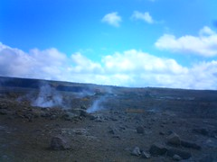 Kilauea steam vents