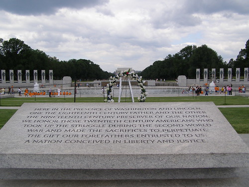 World War II Memorial by Seansie, on Flickr