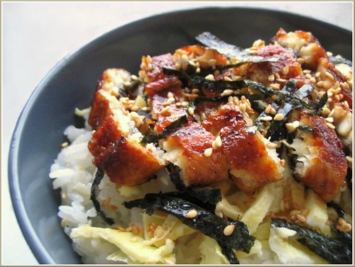 Unagi Sushi Rice Bowl
