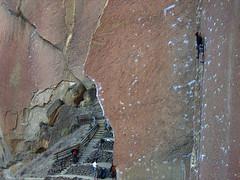 wedding day 5.10b / smith rock (chris frick) Tags: usa oregon climbing classics smithrock monkeyface aidclimbing smithrockstatepark 510b 514c dihedrals 514a aggrogully