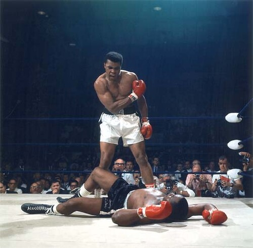 Muhammad Ali Sonny Liston Color Photo / John  Gotty™