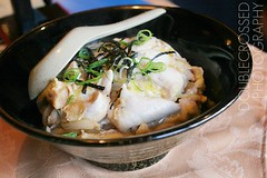 Chicken Don @ Sushi Haru (tanjatiziana) Tags: food toronto chicken sushi blog rice review bowl don collegest blogto sushiharu