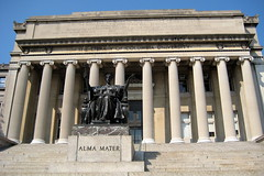 NYC - Columbia University - Alma Mater and Low...