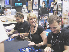 Sanctuary Autograph - 12 (pix taken by Heath)