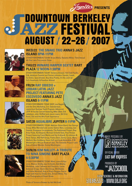 Downtown Berkeley Jazz Festival