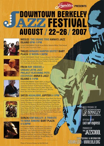 Downtown Berkeley Jazz Festival