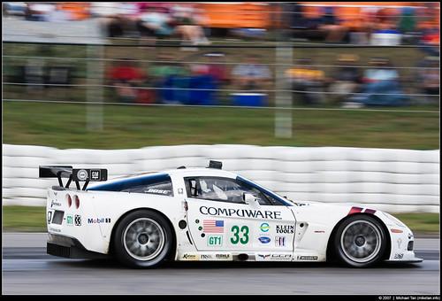 2007 ALMS @ Mosport: Corvette Racing - #33 Corvette C6R