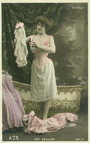 edwardian underwear by Faces from the past....
