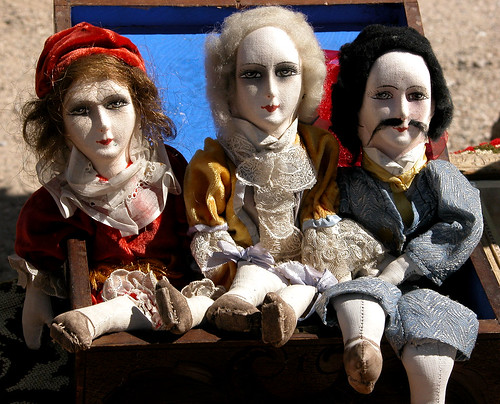 Brocante puppets