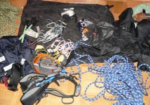 Ausrüstung sortieren