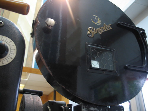 Yesterday, Simplex Projector detail, Parkway Theater, Minneapolis, MN, photo © 2007 by QuoinMonkey. All rights reserved.