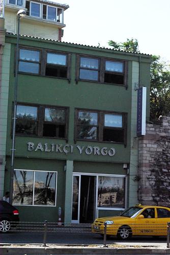 Balıkçı Yorgo lokantası, Cibalikapı Istanbul, pentax K10D