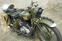 Classic Bike 3 (Andrew Lilley) Tags: bsa bsam20 vintagebikeshow