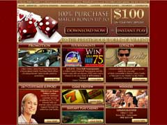 Villento Casino Las Vegas Lobby