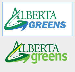 Alberta Greens Logo Comparison: Blue is the new Green