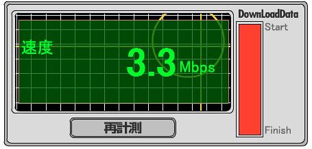 UQ WiMAX goo-スピードテスト マック