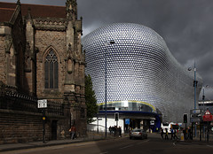 Selfridges Birmingham (david.bank (www.david-bank.com)) Tags: uk england architecture modern contrast birmingham systems selfridges future bullring