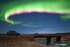 Aurora Borealis - Northern lights - Iceland (Arnar Bergur) Tags: blue green lights aurora northen borealis 24mm14l canoneos5d diamondclassphotographer flickrdiamond
