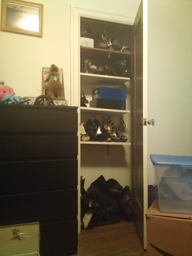 The shoe closet