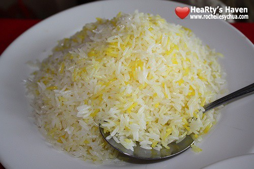 saffron rice hossein