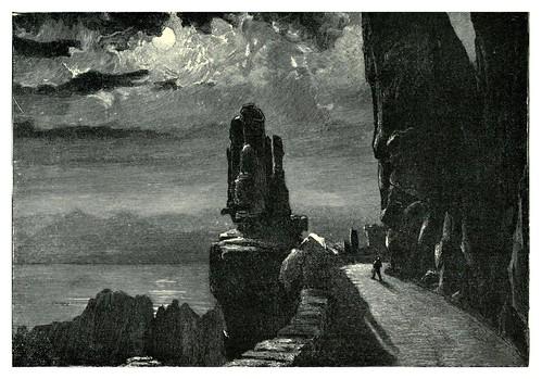 012- Calanques de Piana a la luz de la luna-The forgotten isles…1896-Frederic Breton