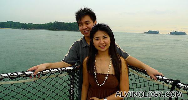 Loving couple, Mark and Meiyen