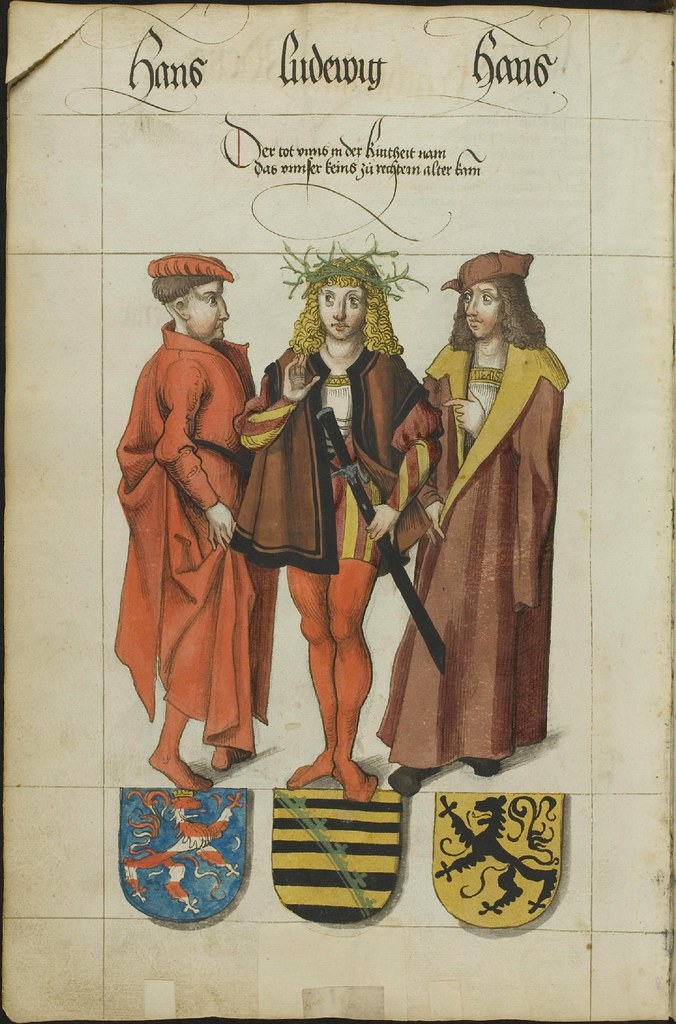 Saxony lineage i